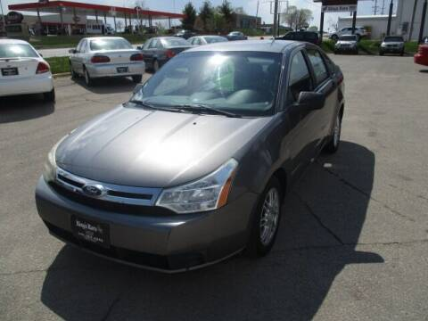 2009 Ford Focus for sale at King's Kars in Marion IA