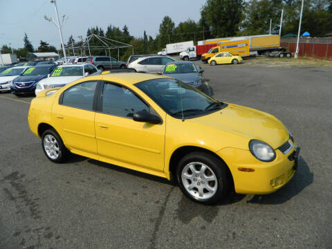 2003 Dodge Neon for sale at J & R Motorsports in Lynnwood WA