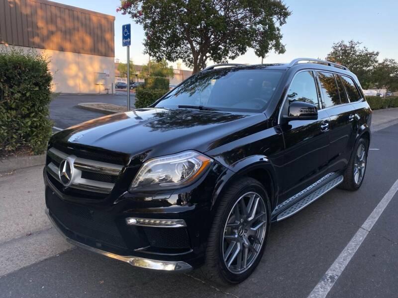 2013 Mercedes-Benz GL-Class for sale at LG Auto Sales in Rancho Cordova CA