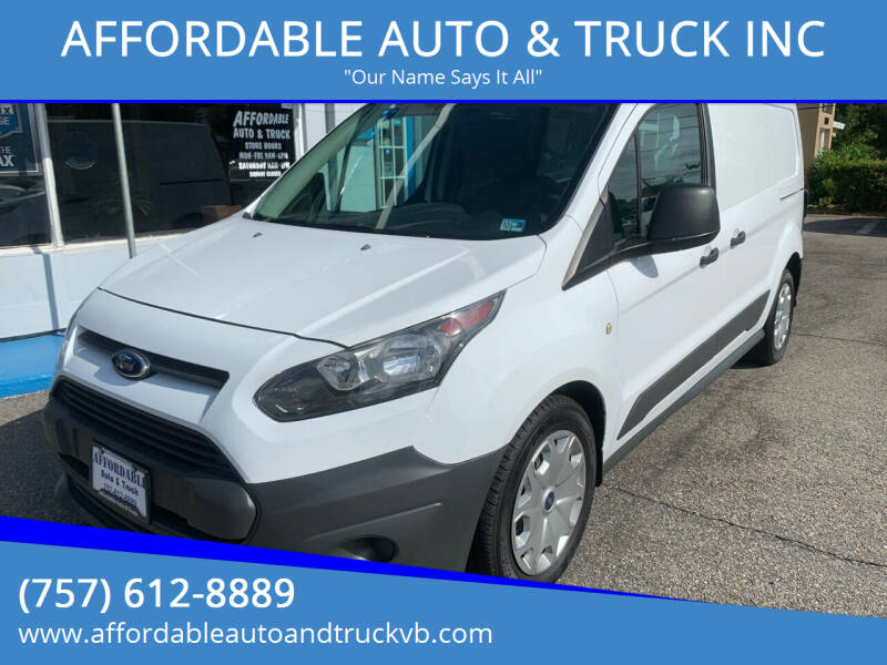 2015 Ford Transit Connect Cargo for sale at AFFORDABLE AUTO & TRUCK INC in Virginia Beach VA