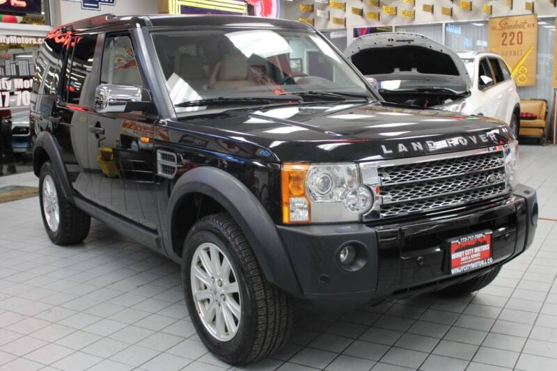 2008 Land Rover LR3 for sale at Windy City Motors in Chicago IL