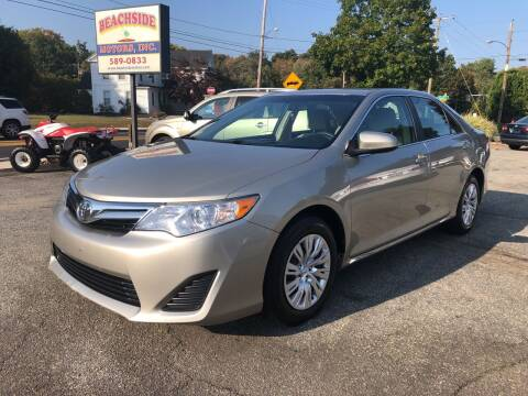 2014 Toyota Camry for sale at Beachside Motors, Inc. in Ludlow MA