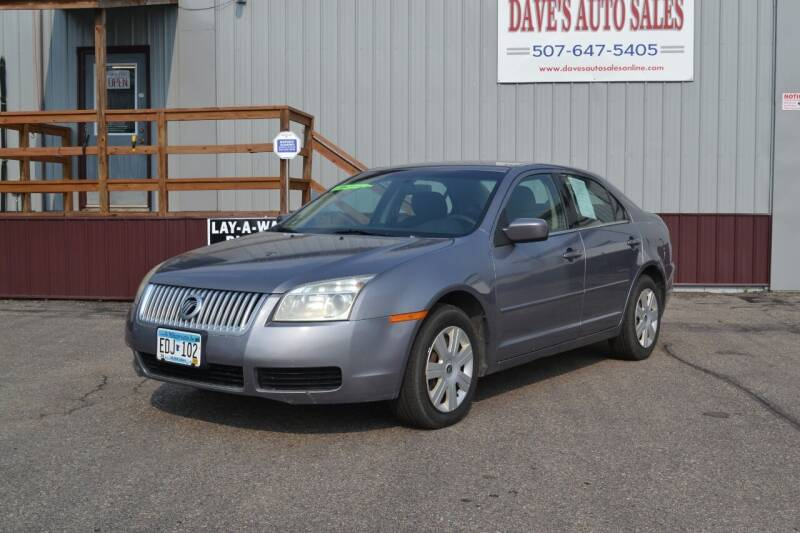 2006 Mercury Milan for sale at Dave's Auto Sales in Winthrop MN
