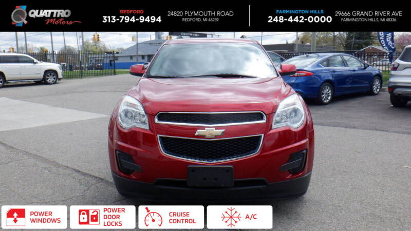 2015 Chevrolet Equinox for sale at Quattro Motors 2 in Farmington Hills MI
