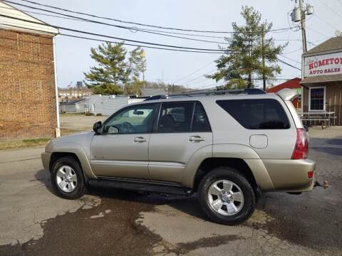 2004 Toyota 4Runner for sale at Jim's Hometown Auto Sales LLC in Byesville OH