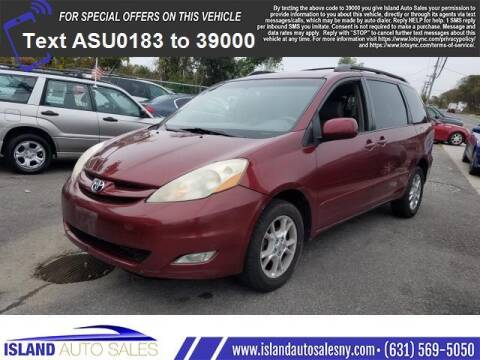 2006 Toyota Sienna for sale at Island Auto Sales in E.Patchogue NY