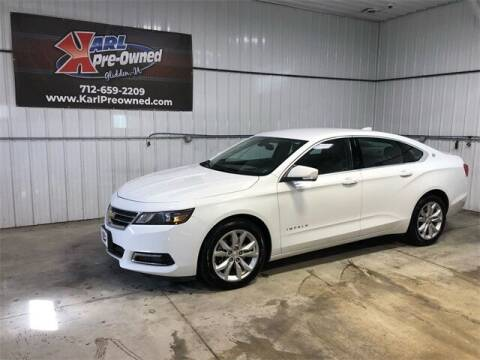 2018 Chevrolet Impala for sale at Karl Pre-Owned in Glidden IA