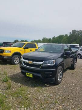 2016 Chevrolet Colorado for sale at Jeff's Sales & Service in Presque Isle ME