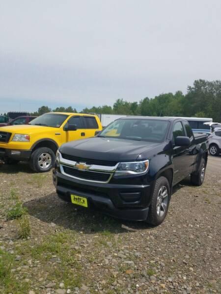 2016 Chevrolet Colorado for sale at Jeff's Sales & Service in Presque Isle ME