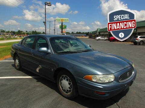 2002 Buick LeSabre for sale at Auto World in Carbondale IL