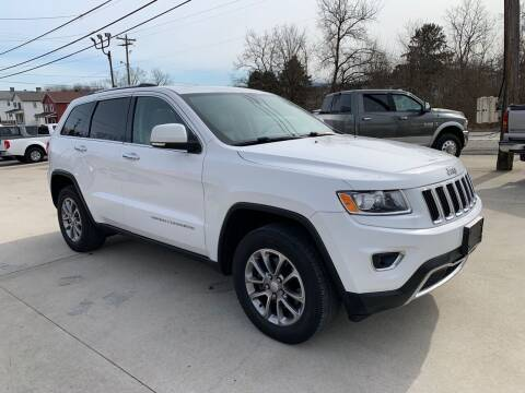 2014 Jeep Grand Cherokee for sale at Twin Rocks Auto Sales LLC in Uniontown PA