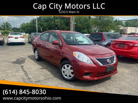 2012 Nissan Versa for sale at Cap City Motors LLC in Columbus OH