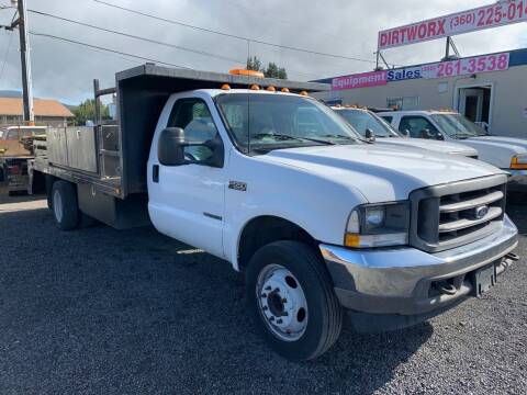 2002 Ford F-550 Super Duty for sale at DirtWorx Equipment - Used Equipment in Woodland WA
