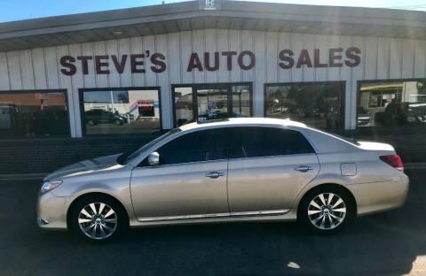 2011 Toyota Avalon for sale at STEVE'S AUTO SALES INC in Scottsbluff NE
