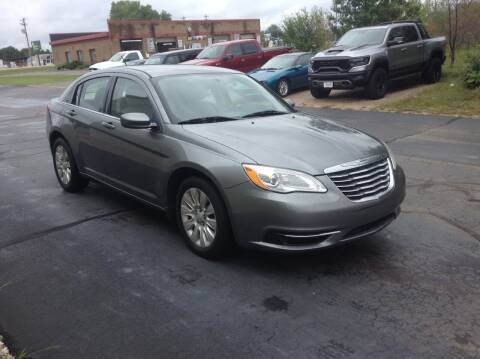 2012 Chrysler 200 for sale at Bruns & Sons Auto in Plover WI