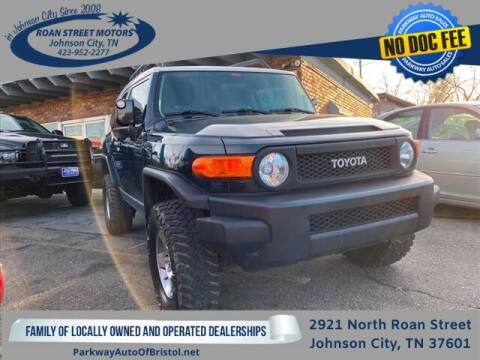 2008 Toyota FJ Cruiser for sale at PARKWAY AUTO SALES OF BRISTOL - Roan Street Motors in Johnson City TN