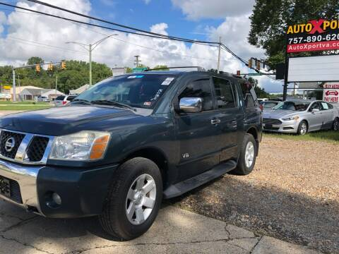 2006 Nissan Armada for sale at Autoxport in Newport News VA