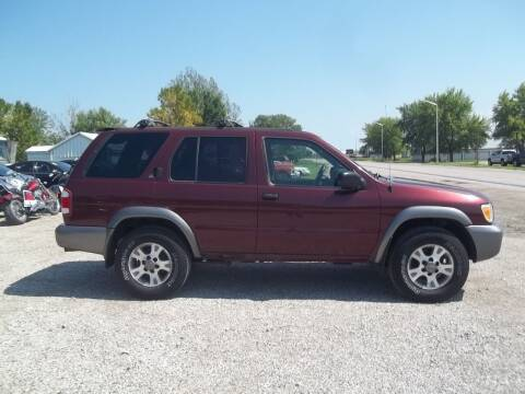 2001 Nissan Pathfinder for sale at BRETT SPAULDING SALES in Onawa IA