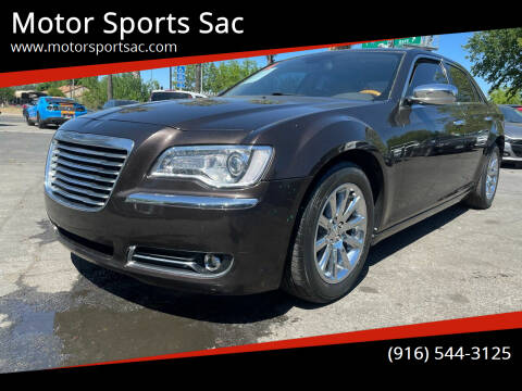 2012 Chrysler 300 for sale at Motor Sports Sac in Sacramento CA