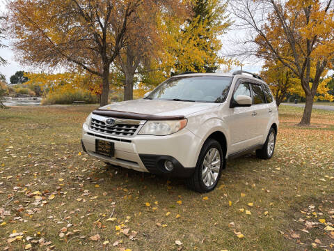2011 Subaru Forester for sale at BELOW BOOK AUTO SALES in Idaho Falls ID
