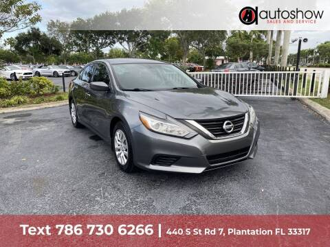 2016 Nissan Altima for sale at AUTOSHOW SALES & SERVICE in Plantation FL