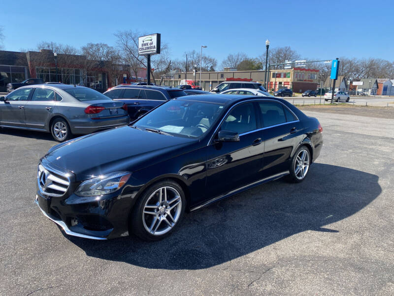 2014 Mercedes-Benz E-Class for sale at BWK of Columbia in Columbia SC