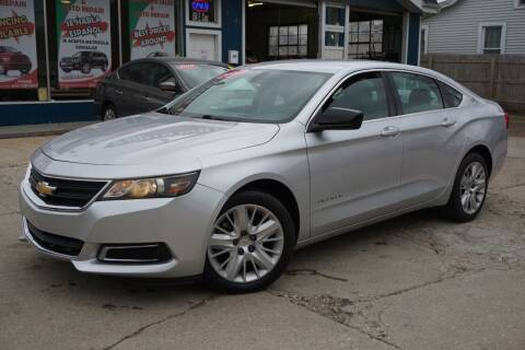 2014 Chevrolet Impala for sale at Cass Auto Sales Inc in Joliet IL