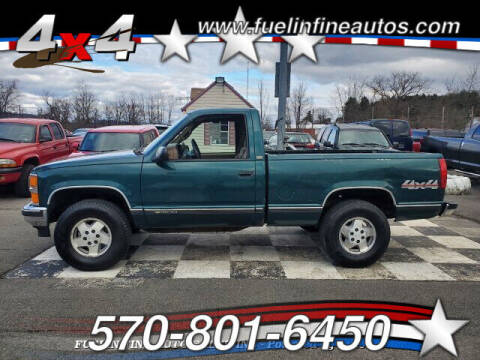 1995 Chevrolet C/K 1500 Series for sale at FUELIN FINE AUTO SALES INC in Saylorsburg PA