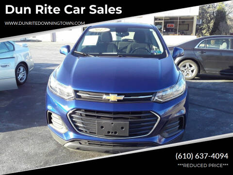 2017 Chevrolet Trax for sale at Dun Rite Car Sales in Downingtown PA