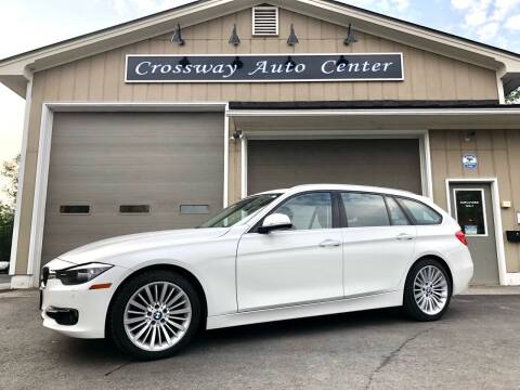 2015 BMW 3 Series for sale at CROSSWAY AUTO CENTER in East Barre VT