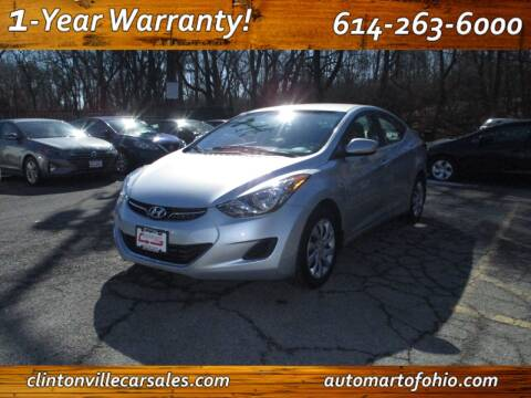 2012 Hyundai Elantra for sale at Clintonville Car Sales - AutoMart of Ohio in Columbus OH