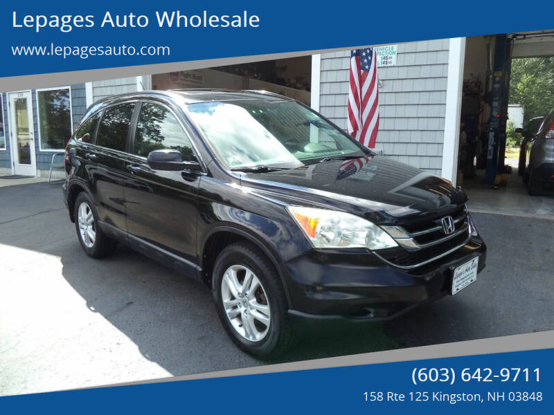 2010 Honda CR-V for sale at Lepages Auto Wholesale in Kingston NH