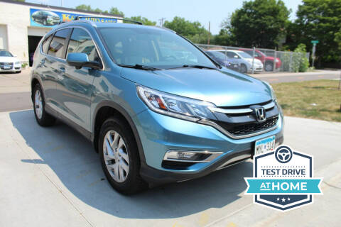 2015 Honda CR-V for sale at K & L Auto Sales in Saint Paul MN