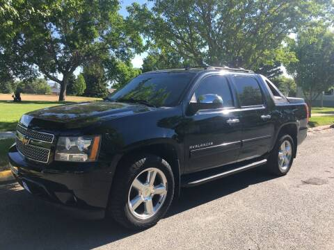 2012 Chevrolet Avalanche for sale at Kevs Auto Sales in Helena MT