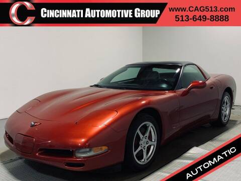 1997 Chevrolet Corvette for sale at Cincinnati Automotive Group in Lebanon OH