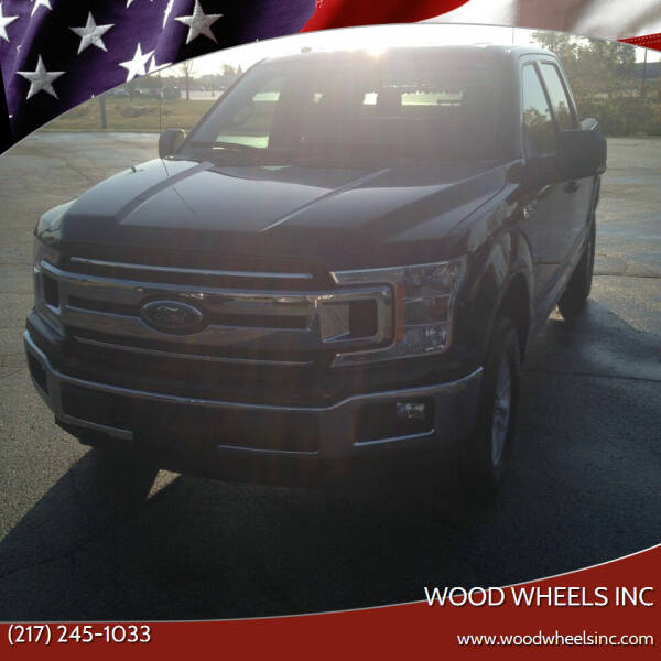 2018 Ford F-150 for sale at Wood Wheels INC in Jacksonville IL