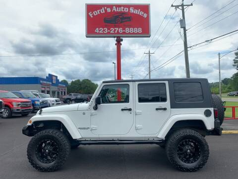 2010 Jeep Wrangler Unlimited for sale at Ford's Auto Sales in Kingsport TN