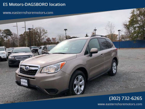 2014 Subaru Forester for sale at ES Motors-DAGSBORO location in Dagsboro DE