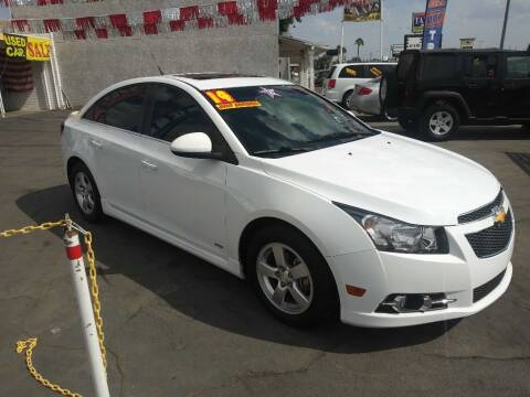 2014 Chevrolet Cruze for sale at Speciality Auto Sales in Oakdale CA