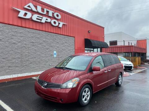 2008 Nissan Quest for sale at Auto Depot of Smyrna in Smyrna TN