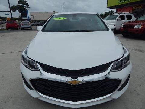 2019 Chevrolet Cruze for sale at Auto Outlet of Sarasota in Sarasota FL