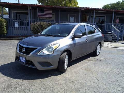 2017 Nissan Versa for sale at AUTO VALUE FINANCE INC in Stafford TX