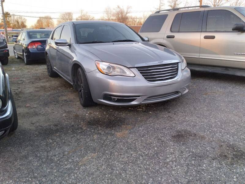 2013 Chrysler 200 for sale at Jan Auto Sales LLC in Parsippany NJ