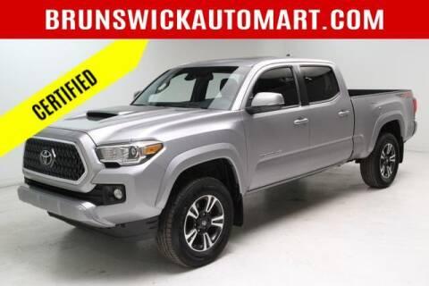 2019 Toyota Tacoma for sale at Brunswick Auto Mart in Brunswick OH