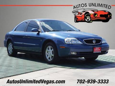 2002 Mercury Sable for sale at Autos Unlimited in Las Vegas NV