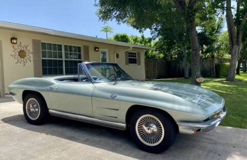 1964 Chevrolet Corvette for sale at Suncoast Sports Cars and Exotics in West Palm Beach FL