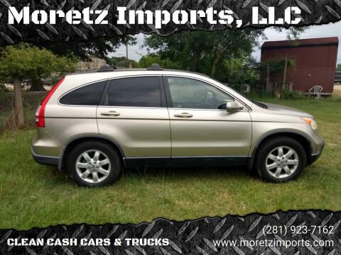 2008 Honda CR-V for sale at Moretz Imports, LLC in Spring TX