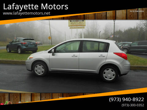 2009 Nissan Versa for sale at Lafayette Motors 2 in Andover NJ