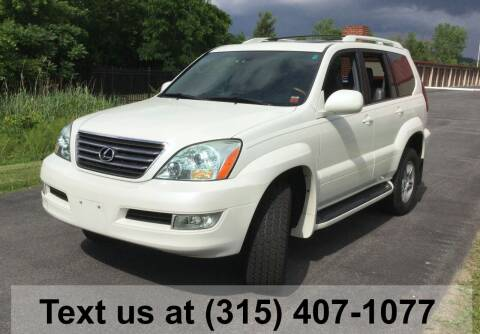 2007 Lexus GX 470 for sale at Pete Kitt's Automotive Sales & Service in Camillus NY