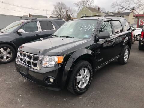 2008 Ford Escape for sale at BIG C MOTORS in Linden NJ
